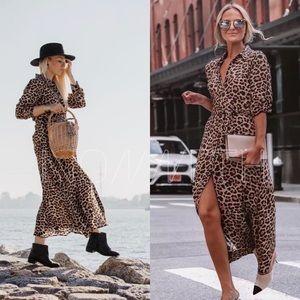 BLOGGERS FAVORITE! Zara  Leopard Printed XL